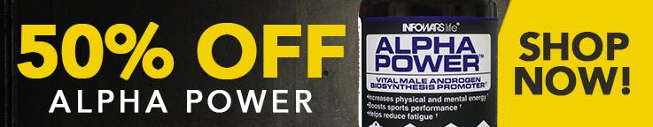 Alpha Power 50% Off