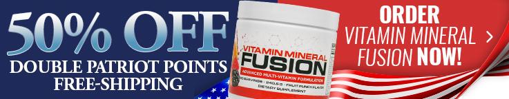 Vitamin Mineral Fusion 50% Off July 4th Super Sale