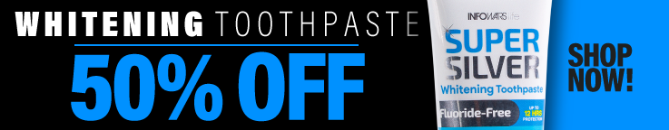 Whitening Toothpaste 50% Off