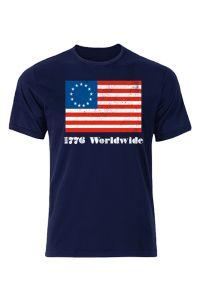 Betsy Ross 1776 Version 2 Shirt