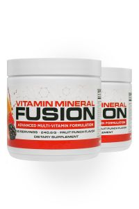 2 bottles of Vitamin Mineral Fusion for 2 pack
