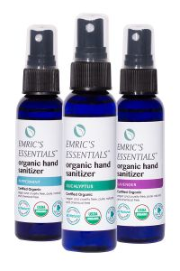 Emric's Essentials Organic Hand Sanitizer Combo