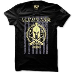 Front view of .50 Cal Molon Labe T-shirt