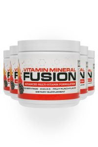5 bottles of Vitamin Mineral Fusion for 5-pack