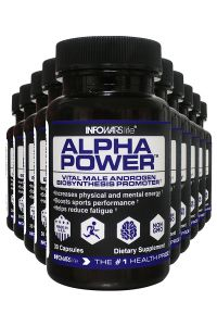 10 Bottles Of Alpha Power Infowars Life