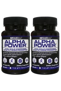 2 Bottles of Alpha Power From Infowars Life