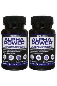 2 Bottles of Alpha Power From Infowars Life