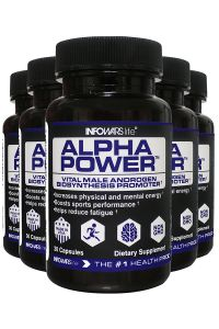 5 Bottles Of Alpha Power Infowars Life