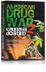 Front cover of American Drug War 2: Cannibis Destiny DVD