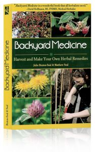 Front cover of Backyard Medicine book