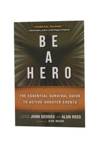 Front cover of Be A Hero book