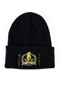 Front view of Molon Labe Folded Knit Beanie