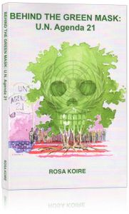 Front cover of Behind the Green Mask by Rosa Koire