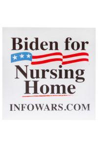 Biden For Nursing Home Sticker