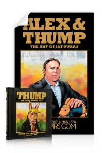 Alex Jones and Thump Limited Edition Poster Combo