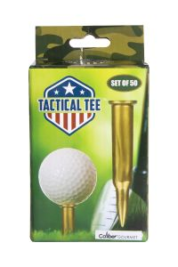Tactical Golf Tees - Pack of 50cal Golf Tees - Pack of 50