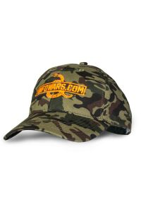 Side view of Infowars Camo Hat
