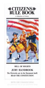 Front cover of Citizen's Rule Book for 50 pack