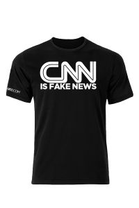 Front view of the CNN is Fake News T-Shirt