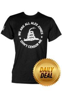 We Are All Alex Jones Shirt