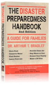 Front cover of the Disaster Preparedness Handbook by Arthur Bradley
