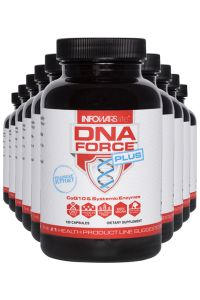 10 Bottles Of Infowars Life DNA Force Plus