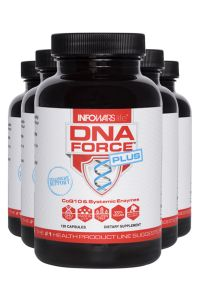 5 Bottles Of Infowars Life DNA Force Plus