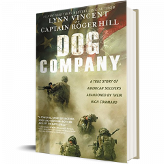 Front cover of Dog Company book