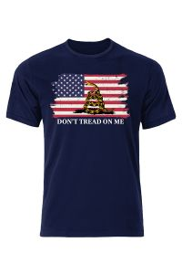 Don't Tread On Me American Flag T-Shirt