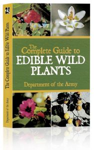 Front cover to The Complete Guide To Edible Wild Plants from the Department of the Army
