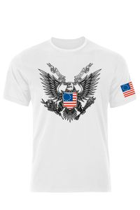 Betsy Ross American Eagle, Not Nazi T-Shirt