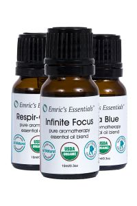 Organic Essential Oil Blends Pack By Emric's Essentials