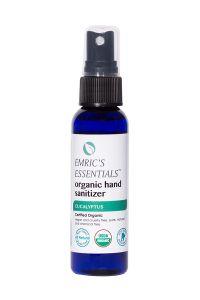 Emric's Essentials Eucalyptus Organic Hand Sanitizer