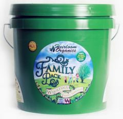 Heirloom Organics Seed Vault Family Pack
