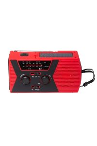 Solar Crank Portable Radio AM/FM/NOAA