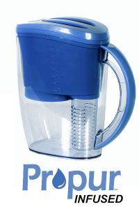 Propur Filtered Water Pitcher w/ Free Fruit Infused accessory included
