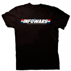 Front view of GI Infowars T-Shirt
