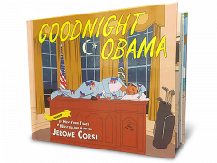 Front cover of Goodnight Obama book by Jerome Corsi