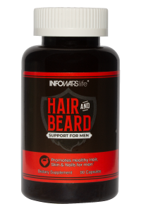 Hair and Beard Support for Men