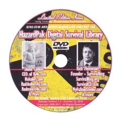 Front cover of HazardPak Digital Survival Library DVD