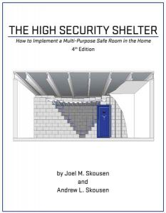 The front cover of The High Security Shelter book