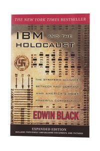 Front cover of IBM and the Holocaust book