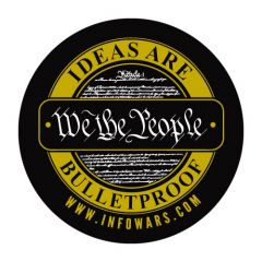 Ideas Are Bulletproof Sticker
