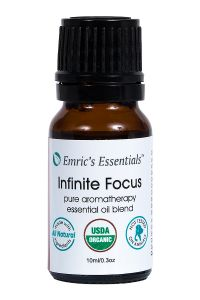 Organic Infinite Focus Essential Oil Blend By Emric's Essentials