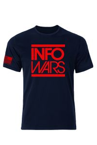 Infowars In Your Face T-Shirt