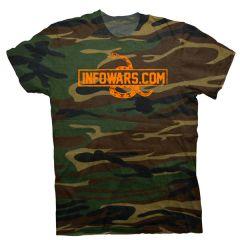 Infowars Camo T-Shirt