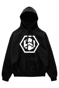 Infowars Hexagon Logo Hoodie