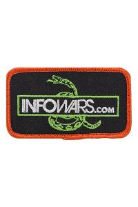 Infowars Don't Tread on Me Snake Patch