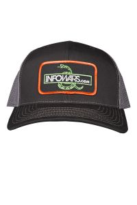 Infowars Snake Hat Front View