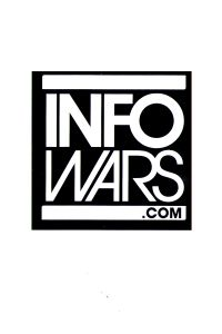 Infowars Small Square Logo Sticker
